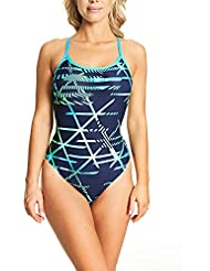 Zoggs Women's Equation Sprintback Eco Fabric One Piece Swimsuit