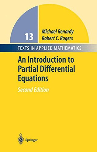 An Introduction to Partial Differential Equations par Michael Renardy