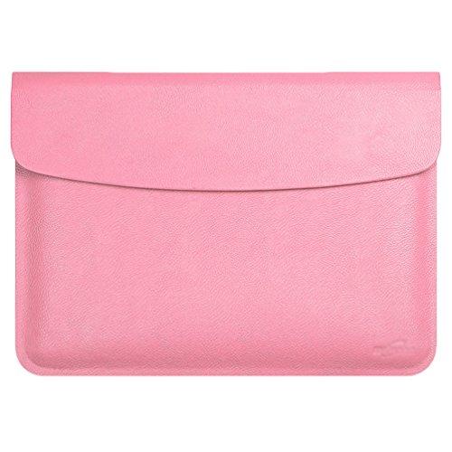 YiJee MacBook Air / Pro Laptop Hülle Notebook Tasche Schutzhülle Aktentasche 11.6 Zoll Pink