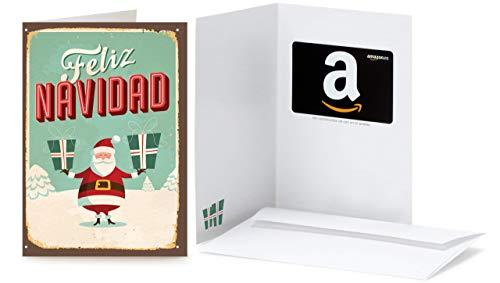 Tarjeta Regalo Amazon.es - Tarjeta felicitación Santa