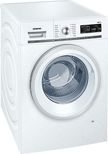 Siemens WM14W570 iQ700 Waschmaschine / A+++ / 196 kWh/Jahr / 1400 UpM / 8 kg / Weiß / Waschvollautomat