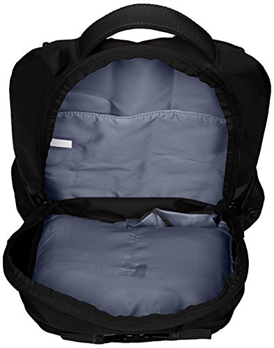 Best under armour bag in India 2020 Under Armour Unisex Team Hustle Backpack, Black (001)/Silver, One Size Image 4