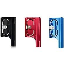 SHOOT 3pcs Multicolor de Aluminio de Hebilla Clip Cierre Pestillo para Carcasa Estándar Impermeable para GoPro Hero 3+/4 Cámara