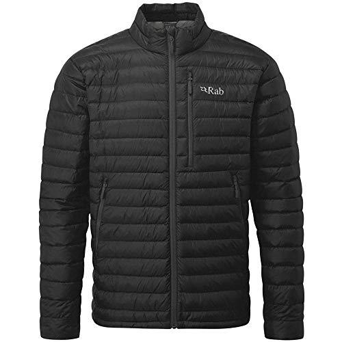 RAB Microlight Jacket Men Black/Shark Größe S 2018 Funktionsjacke