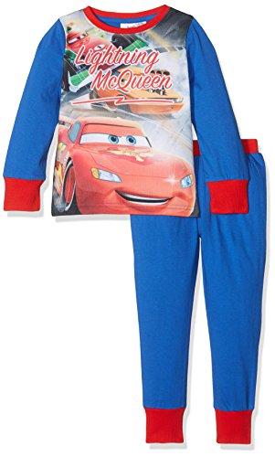 Unknown Jungen Zweiteiliger Schlafanzug Gr. 4-5 Jahre, Blau (Blue 003)