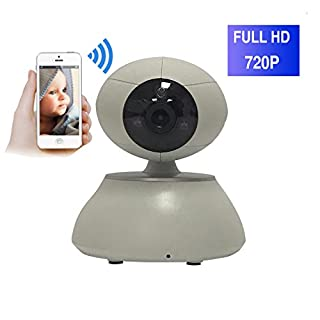 ShengyaoHul 720P HD Überwachungs-Ip-Kamera, 1 Mp Indoor Ip Überwachungskamera, Mobile Push-Benachrichtigung / Eingebautes W-Lan / 3D-Echo-Rauschunterdrückung