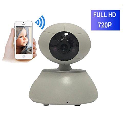 ShengyaoHul Détection De Mouvement Caméra De Surveillance, 720P HD Indoor Système De Sécurité Ip Home Camera, Plug-And-Play Babyphone Paramètres D'Accès / Réduction Du Bruit D'Écho 3D