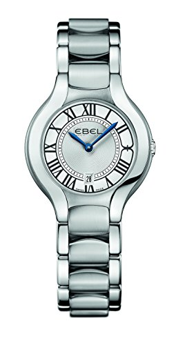 Ebel Women's Quartz Watch with Silver Ebel Beluga Lady 1216037Analogue Quartz Stainless Steel
