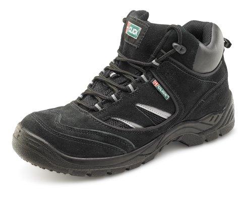ClickFootwear d/d de travail de coffre Noir