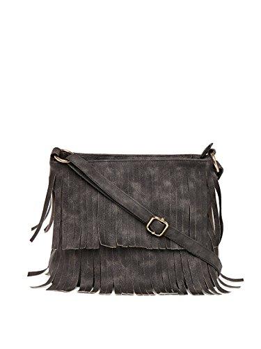 Alessia74 Women's Sling Bag (Dark Grey) (PBG246D)