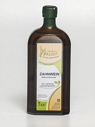 Zahnelixier- Zahnwein(Rebaschen-Lauge) 500ml -