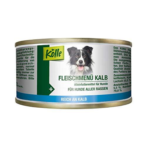 Kölle Nassfutter für Hunde Fleischmenü Kalb, 200 g