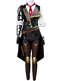 9912a1c24c7 Ladies Cosplay Game Costume Coat Pants Suit Dress Bodysuit Womens Cosplay Costume  Halloween Outfit