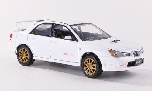 subaru-impreza-wrx-sti-weiss-modellauto-fertigmodell-motormax-124