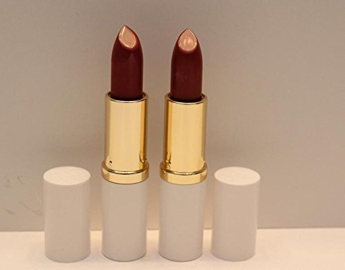 New! 2 X Estee Lauder Lipstick Pure Color 17 Rose Tea Creme - Full Size by Estee Lauder (Estee Lauder Rose Lippenstift)