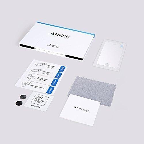 Anker Glas Schutzfolie für Apple iPhone SE / iPhone 5S / iPhone 5C / iPhone 5 Premium Klar Anti-Kratz-Screen Protector Displayschutz - 9H Hardness aus gehärtetem Glas - 7