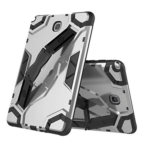 Custodie per telefoni chengxin, per samsung galaxy tab a 8.0 pollici sm-t350 (versione 2015) heavy duty hybrid armour defender custodia antiurto per tablet con supporto pieghevole custodia protettiva