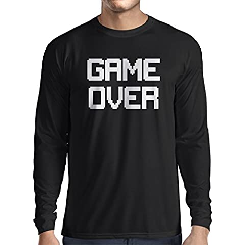 T-shirt manica lunga da uomo Game Over