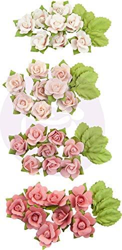 Mulberry Kiss (Unbekannt Prima Marketing Mulberry Paper Flowers -Raspberry Kisses/Fruit Paradise, 48/Pkg)