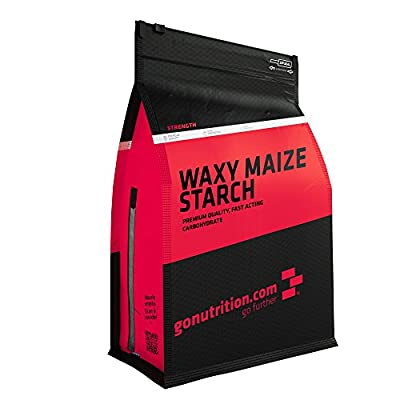 GoNutrition 4 kg Waxy Maize Starch Carbohydrate Supplement by Monocore Ltd.