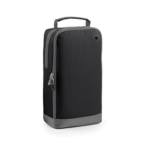 BagBase Borsa per Scarpe Portascarpe Athleisure sports 19x35x12cm 8L Fuchsia Black