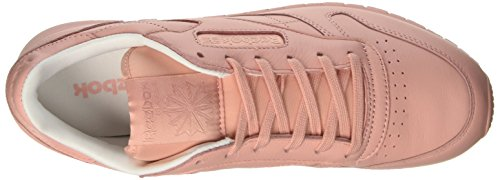 Reebok Cl Lthr Pastels, Scarpe da Corsa Donna Rosa (Patina Pink/White)