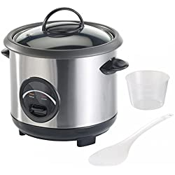 Cuiseur à riz avec fonction maintien au chaud - 0,6 L [Rosenstein & Söhne]