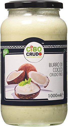 Cibocrudocrema di cocco cruda bio - 1000 ml