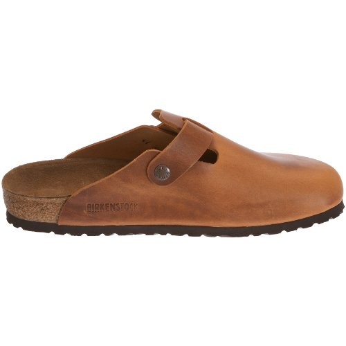 Birkenstock Boston 760871, Sabot unisex adulto Antik Braun