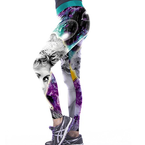 Thenice - Legging - Slim - Femme taille unique Framboise