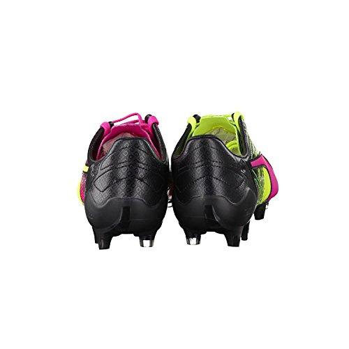 Puma Evospeed Sl Ii Lth Tricks Fg, Chaussures de football homme pink / neongelb