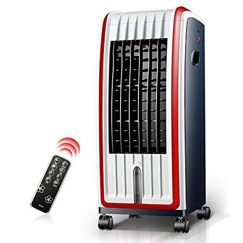 HhGold Klimaanlage Lüfter Kühlung und Heizung Dual-Use-Fernbedienung Wasserkühler 3 Geschwindigkeiten kleine Klimaanlage Vier Jahreszeiten einfach zu bedienen 285 * 345 * 705mm (Farbe : -, Größe : -)