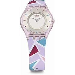 Swatch Women's Wrist Watch Shape Show SFP110 with Plastic Strap