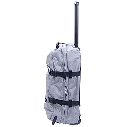 Eastpak Authentic Maleta, 67 cm, 78 Litros, Gris / Copper Drops