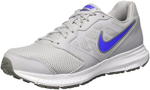 Nike Downshifter 6 Scarpe da Ginnastica, Uomo, Grigio (Wolf Grey/Racer Blue/Cool Grey), 44