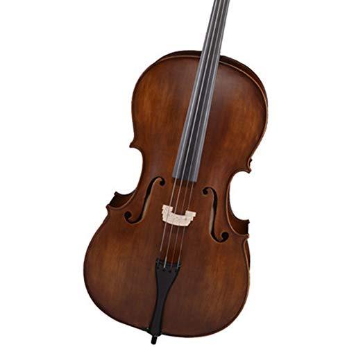 ZQWJ Cello 4/4 Voll Handgemachte Massivholz Kinder Erwachsene Professionelle Grade Saiteninstrument