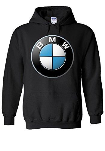 BMW Logo M Power Tech German Car Novelty Black Men Women Unisex Hooded Sweatshirt Hoodie-M (Womans Bmw Bekleidung)