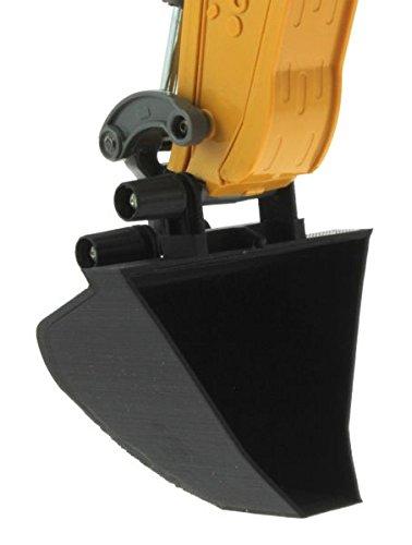 Trapez-Schaufel für Siku Control 32 Liebherr Bagger 6740 (80mm)