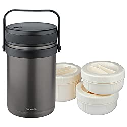 ISOSTEEL Isolierbehälter Maxi, Titan-Grau