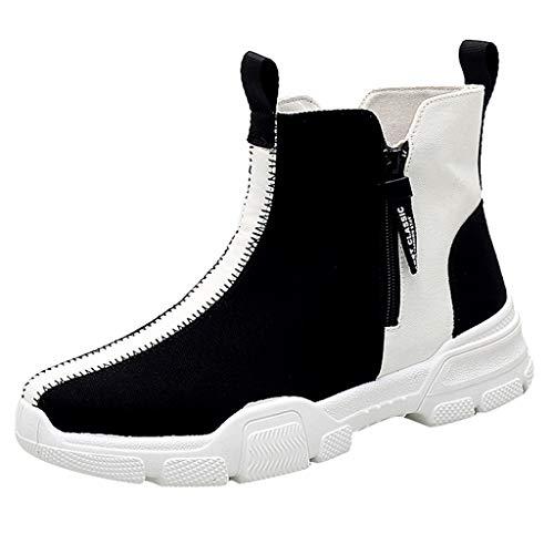 YU'TING ☀‿☀ Sneakers Alte Uomo, Scarpe Uomo Sportive Traspirante Sneakers Uomo Alte Scarpe Uomo Sportive Scarpe Ginnastica Uomo Alte Escursionismo Scarpe da Corsa Uomo Scarpe