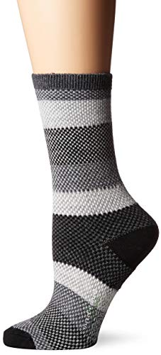 ExOfficio BugsAway Brookside Park Socke, Damen, 3155-3134, Schwarz, Medium - Large - Brookside Park
