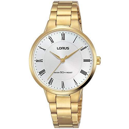 Lorus Reloj de Mujer Cuarzo 32mm analógico Correa y Caja de Acero RG252NX9