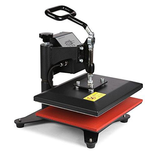 Lartuer Transferpresse Textilpresse T Shirtpresse Heat Press Machine 24X30cm mit Elektronische Zeitregelung und Temperaturüberwachung (24X30cm) - 4