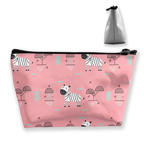 Baby Zebra Mehrzweckstift Bleistift Taschen Zubehör Tasche Make-up Tragetasche