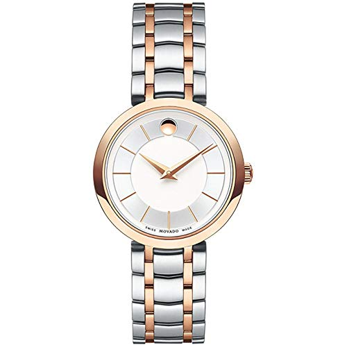 Movado Women's 1881 Quartz 28mm Steel Bracelet Case Analog Watch 607099