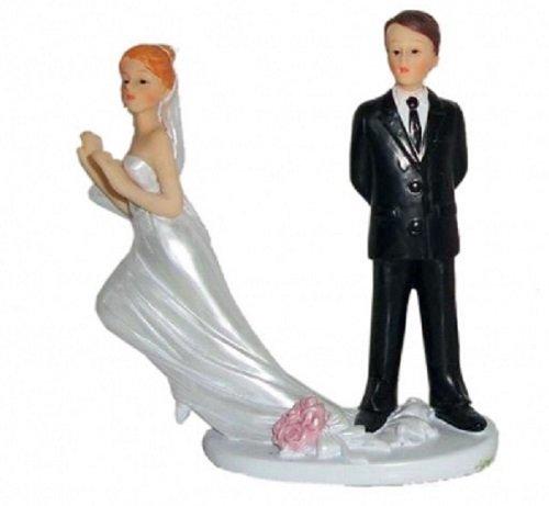 Brautpaar, Hochzeitspaar | Tortenaufsatz, Tortenfigur, Dekofigur, Cake Topper Wedding Hochzeit...