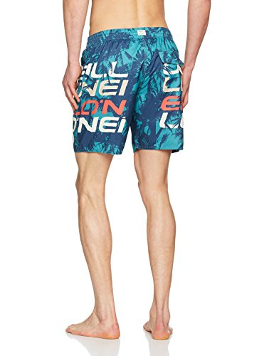 O'Neill Herren Stacked 3 Shorts Boardshorts Grün Aop