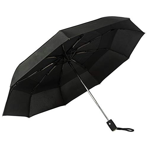 Golden Lemur Paraguas Plegable Automático Mujer Hombre