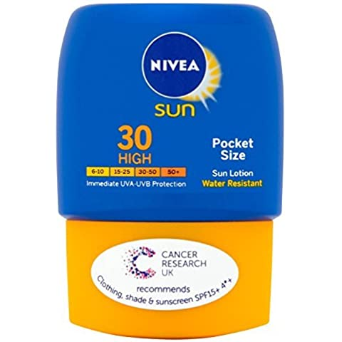 Nivea Sun Pocket Size Sun Lotion High SPF 30, 50ml by Nivea