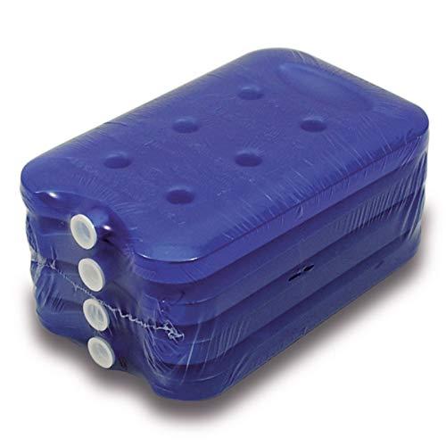 4 Kühlakkus 16x10x2 cm Kühlpack Kühlpacks Kühlelemente Kühltasche Kühlbox Kühlbehälter Getränkespender Waserbehälter flach klein Kühlakku Unterwegs 200ml Getränke Sport Camping Picknick